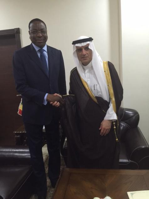 Diplomatie: Mankeur Ndiaye consolide l'axe Dakar-Riyad