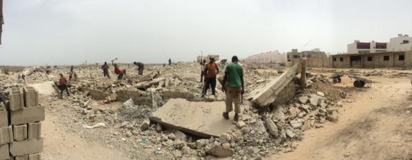 Démolition des maisons de la cité Tobago: Désinformations et empressement du gouverneur de Dakar