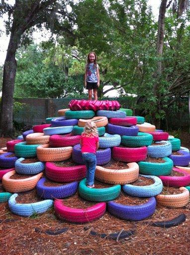 16 façons originales de donner une nouvelle vie à ses pneus