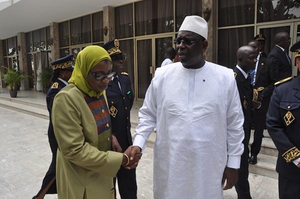 Macky Sall espère plus de femmes à l'Inspection générale d'Etat