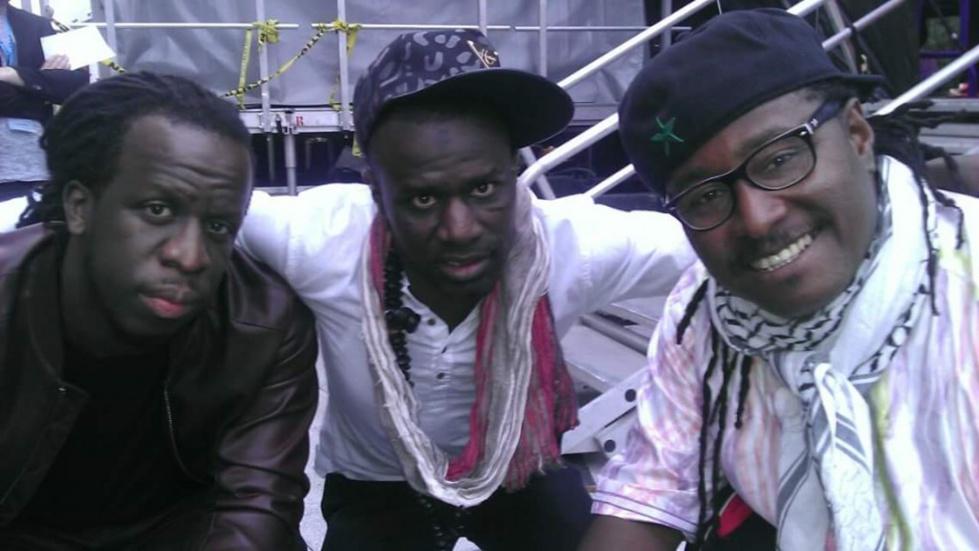 Seydina Ndiaye en compagnie de Awady et Youssoupha au Canada