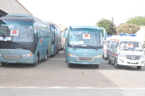 Coopération:  La chine offre 13 véhicules dont 3 ambulances