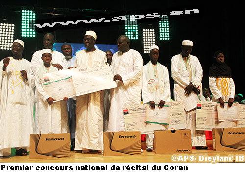 Mohamad Almamy Cissé de Fatick remporte le concours national de récital du Coran