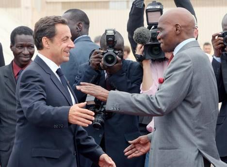 Paris : Après des années de brouille, Me Wade et Sarkozy enterrent la hache de guerre