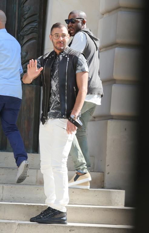 Karim Benzema au défilé Balmain : un message pour Rihanna ?