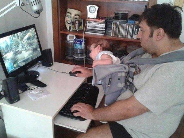 Voici ce qui arrive quand on laisse les papas seuls avec leurs enfants à la maison