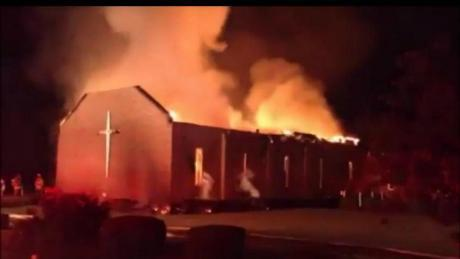 Une église noire incendiée aux Etats-Unis