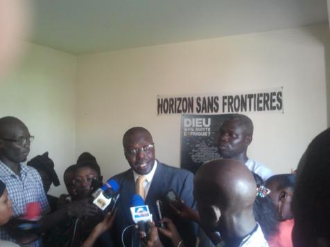 Boubacar Sèye, Président de Horizon sans frontières