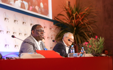 """Macky Sall au Forum d'Aix-en-Provence: """"C'est toujours le travail qui fera la différence"""""""