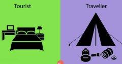 Voici la preuve en 14 photos qu'il y a une différence entre un voyageur et un touriste !