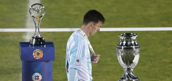 Finale de la Copa America : Messi a refusé le titre de meilleur joueur
