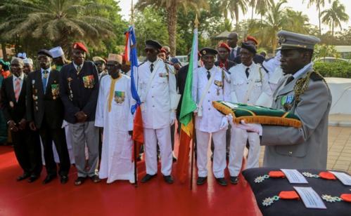 Levée des couleurs :  Macky Sall érige les anciens combattants en modèle pour tous