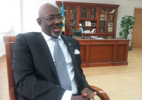 Général Abdoulaye Fall, ambassadeur du Sénégal en Chine
