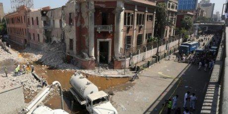Egypte : l'Etat islamique a fait sauter 450 kg d'explosifs contre le consulat italien !