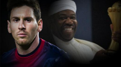 Lionel Messi en visite très discrète au Gabon