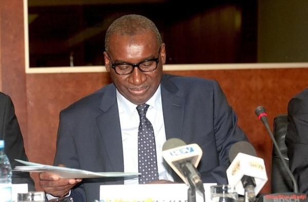"""Sidiki Kaba: """"La presse fait partie de la démocratie (à laquelle) elle permet de bien s'enraciner"""""""