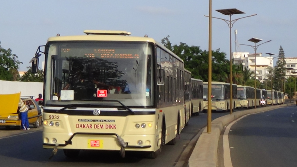 Transport interurbain:  Dakar Dem Dikk réceptionne 35 bus