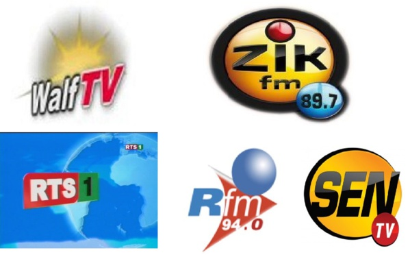 Pub déguisée, tiraillements entre opérateurs audiovisuels, revue de presse tendancieux… Walfadjri, Rts, Zik-Fm, Sen Tv et Rfm mis en cause