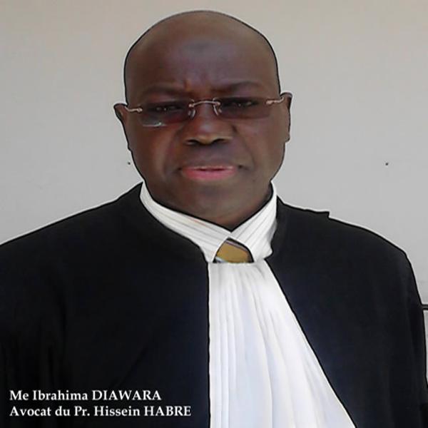 Procès Habré: Me Diawara explique les raisons de l'absence des avocats de l'ancien Président tchadien à l'audience