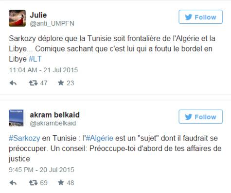 Nouvelle gaffe : La petite phrase de Sarkozy qui a choqué les Algériens