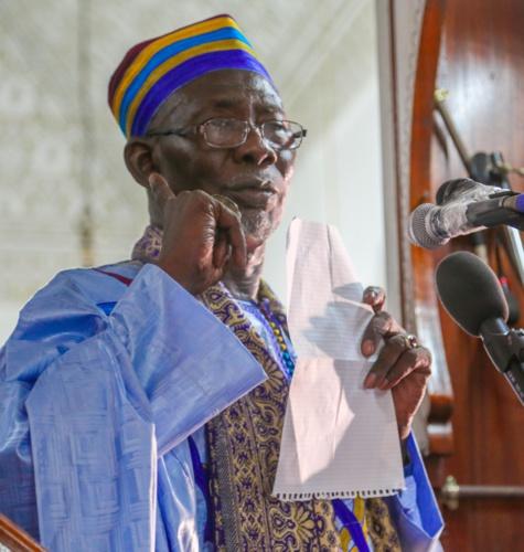 L'Imam de la grande mosquée de Dakar sermonné par son adjoint