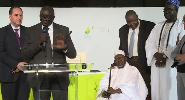 Vidéo - Tivaouane et Touba représentent le Sénégal au sommet des consciences pour le climat