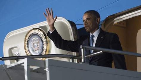 Barack Obama est arrivé au Kenya