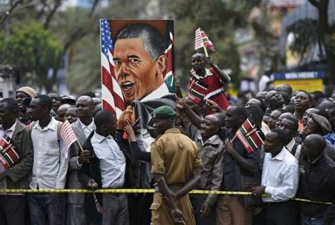 """Barack Obama au Kenya : """"L'Afrique est en marche"""""""