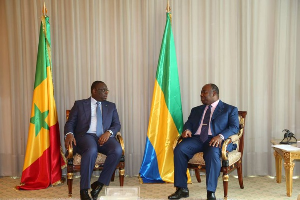 Traitement des Sénégalais au Gabon: les assurances de l'émissaire de Macky Sall