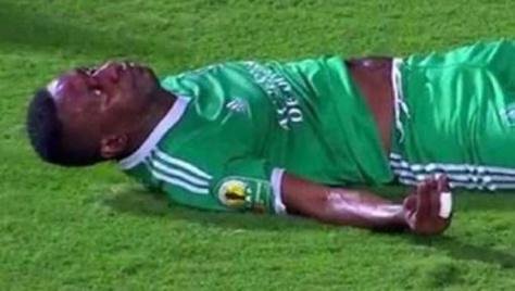 Coupe de la Caf : Rudy Ndey, des Léopards de Dolisie coachés par Lamine Ndiaye, paralysé après une chute effroyable