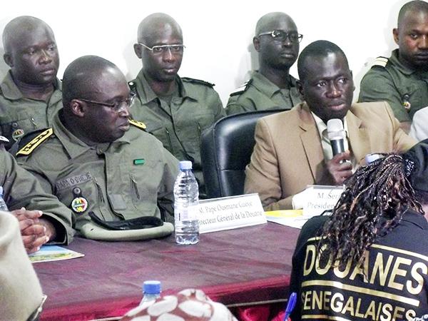 Tournée du Dg des Douanes dans les régions (Centre):  Pape Ousmane Guèye tresse des lauriers à Serigne Mboup