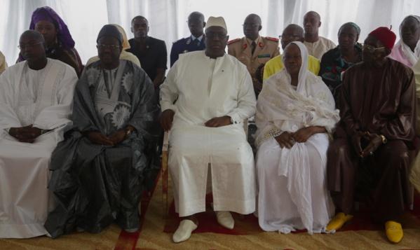 Condoléances: Le Président Macky Sall à Rufisque