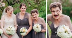Une jeune mariée invite sa grand-mère de 89 ans pour assister à son mariage... En tant que Demoiselle d'Honneur!