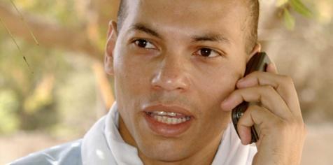 Karim Wade blinde sa défense