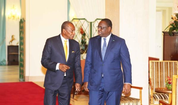 Retrouvailles Macky Sall - Alpha Condé : La banane de la réconciliation