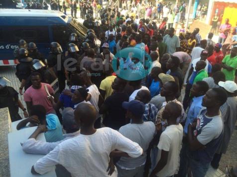Espagne: Mort de Mor Sylla à Salou: Très en colère, les Sénégalais bloquent la ville
