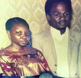 Fatimé Toumlé et son mari, Haroun Godi