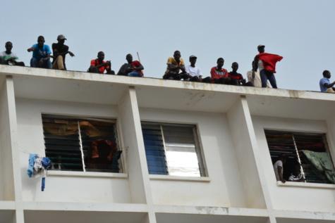 Caillassage du cortège du Président: Zoom sur les ''quatre étudiants de Macky Sall''