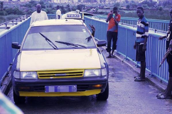 Véhicules empruntant la passerelle de l'autoroute : Ousseynou Diop a passé sa première nuit à Rebeuss