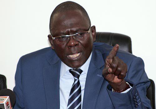 """Moustapha Diakhate, : """" les étudiants qui ont caillassé le cortège du chef de l'État doivent être punis pénalement et sévèrement """""""