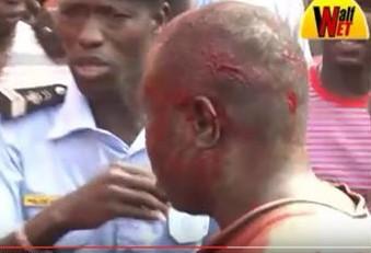 L'assassin de Baye Fall, au moment de son interpellation par la Police