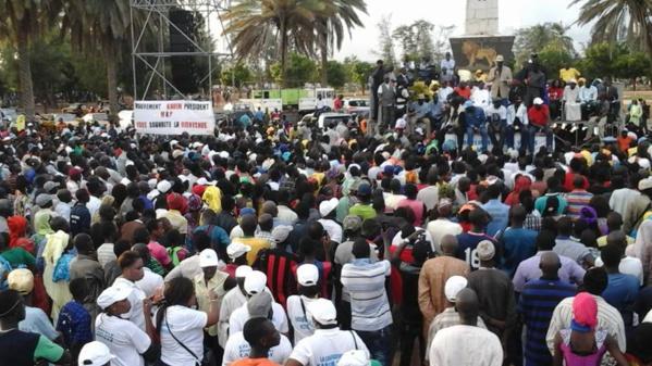 Meeting hier, à la Place de l'Obélisque : Faible mobilisation, le Fpdr accuse le pouvoir
