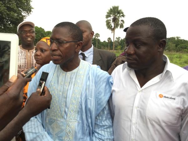 Politique de développement : Don et Subvention aux communes de Sindian et Ouonck