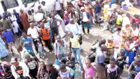 Horreur à Bountou Pikine: Un bus écrase un bébé