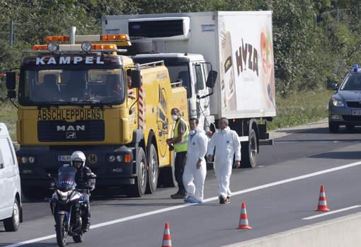 Autriche : Vingt migrants retrouvés morts dans un camion