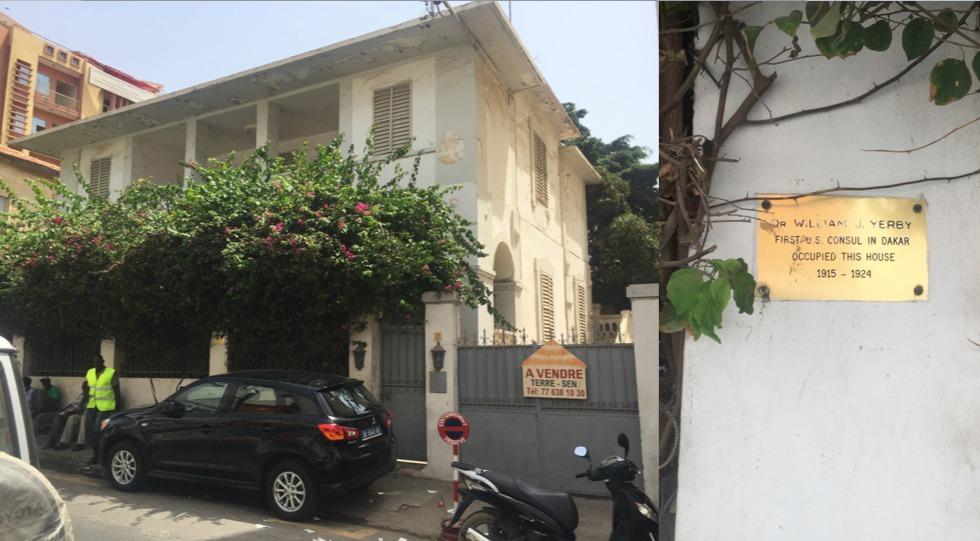 Le premier consulat des USA au Sénégal
