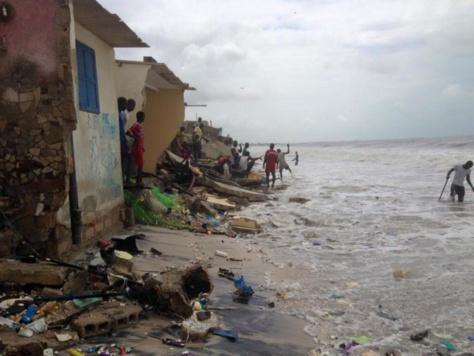 Dégâts causés par la mer sur le littoral : Le PM Mahammed Boun Abdallah Dionne au chevet des populations sinistrées