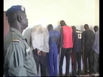 Sédhiou : La brigade de Samine arrête une bande de malfaiteurs