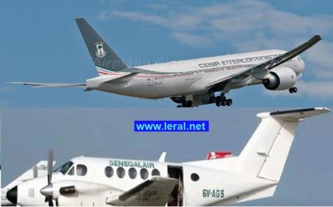 Crash: L'avion Sénégal Air a croisé un vol de la compagnie Ceiba International