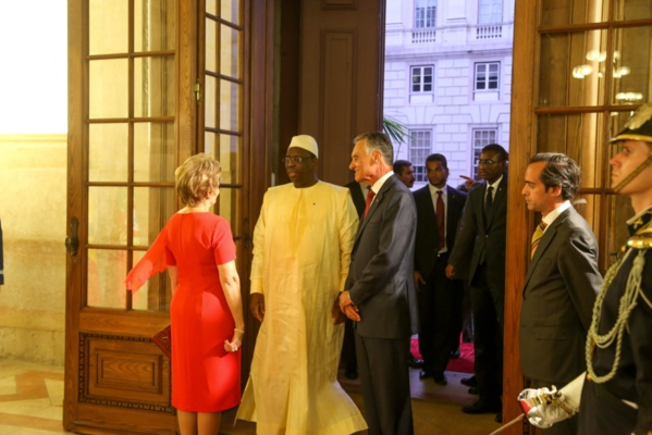 Diner d'Etat au Portugal : ce que les Présidents sénégalais et portugais se sont dits